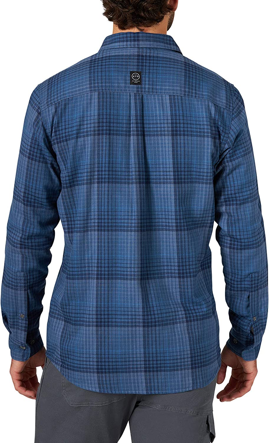 ATG by Wrangler Mens Thermal Lined Flannel Shirt