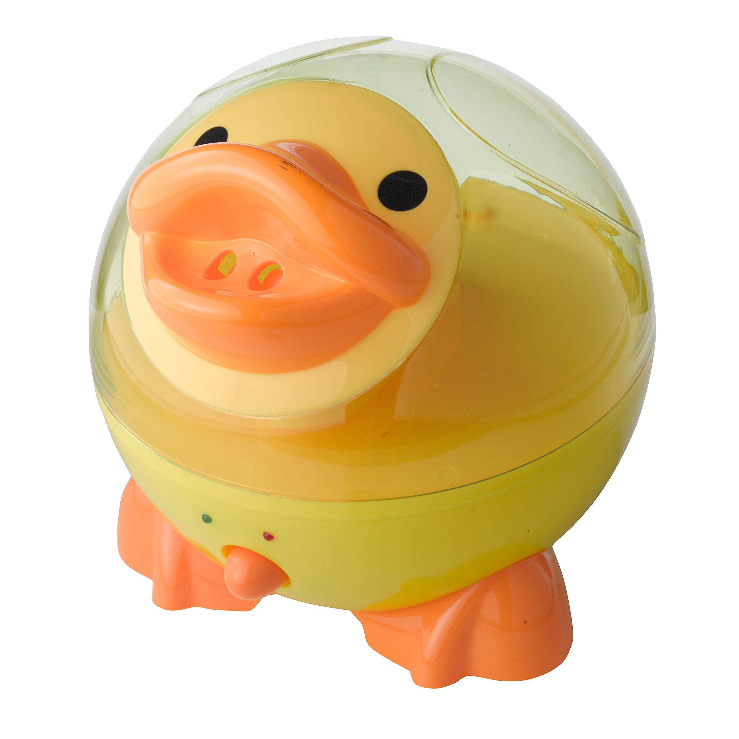 Drive Medical Ultrasonic Cool Mist Daisy The Duck Pediatric Humidifier, Yellow