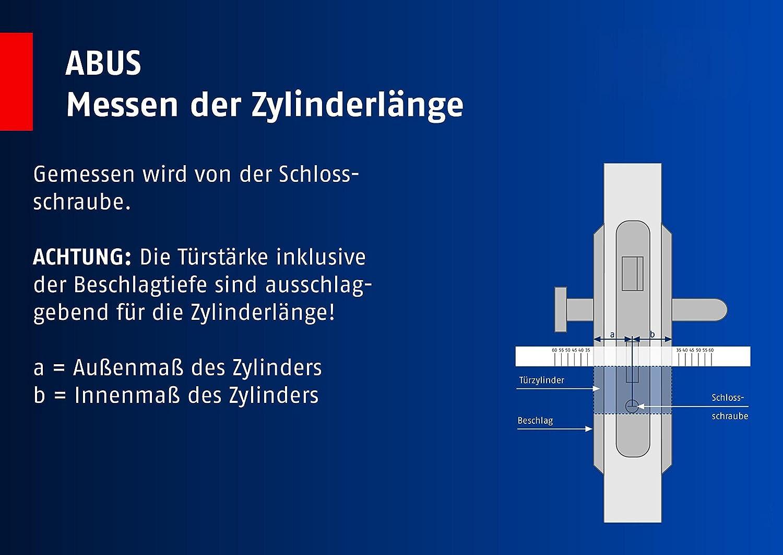 ABUS 483011 Cilindro para puertas