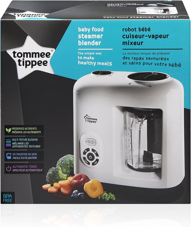 Tommee Tippee 440065 - Robot de cocina al vapor: Amazon.es: Bebé