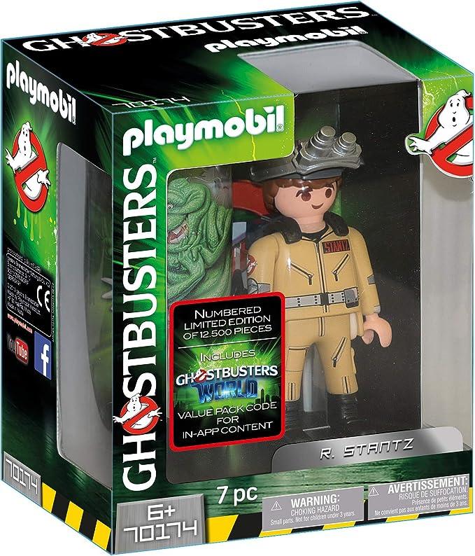PLAYMOBIL Ghostbusters Figura Coleccionable R. Stantz, a Partir de 6 Años (70174): Amazon.es: Juguetes y juegos