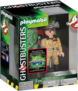 PLAYMOBIL Ghostbusters Figura Coleccionable R. Stantz, a Partir de 6 Años (70174)