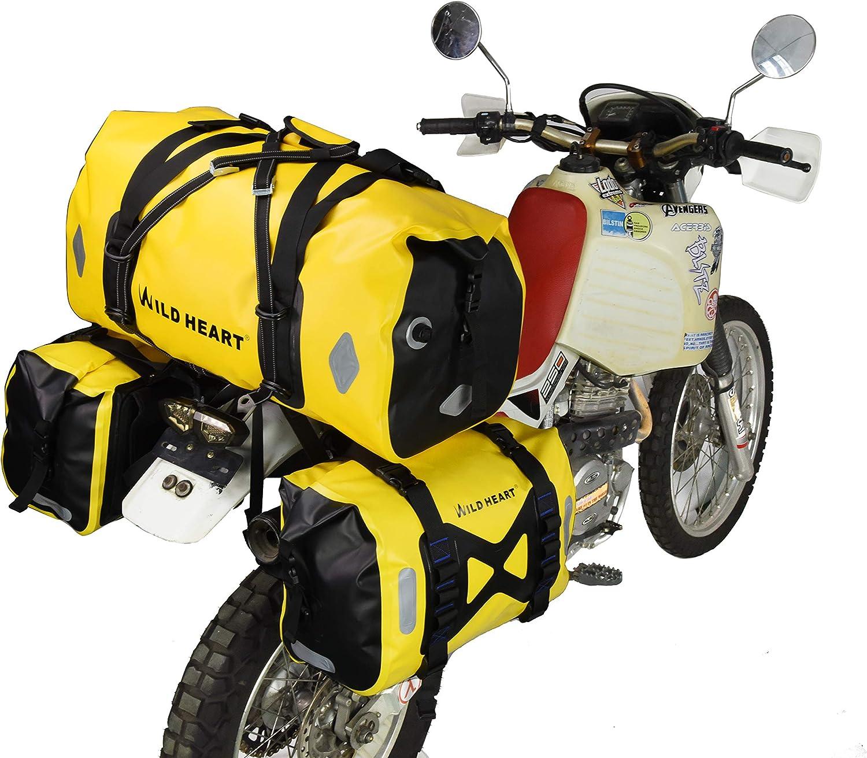 66L 13 randonn/ée v/élo camping jaune WILD Heart 55L 66L 77L Sac de moto Sac de voyage pour moto