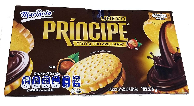 Amazon.com: Marinela Principe Sandwich Cookies. Delicious ...
