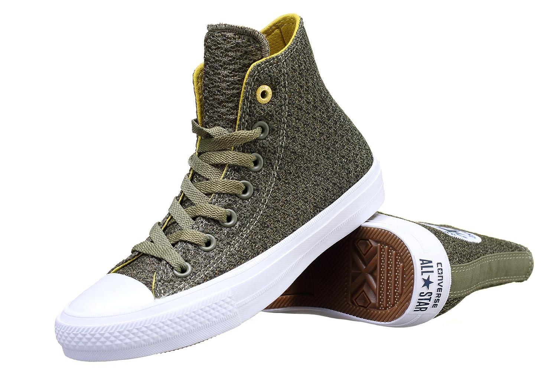 65135f4b13722 Converse - Basket Ctas Ii Hi 154021c Vert - Couleur Vert - Taille 41   Amazon.fr  Chaussures et Sacs