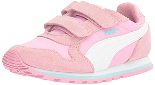 separation shoes 2fa6b 6d6ba PUMA Girls' ST Runner NL V PS Sneaker, Prism Pink-Puma White ...