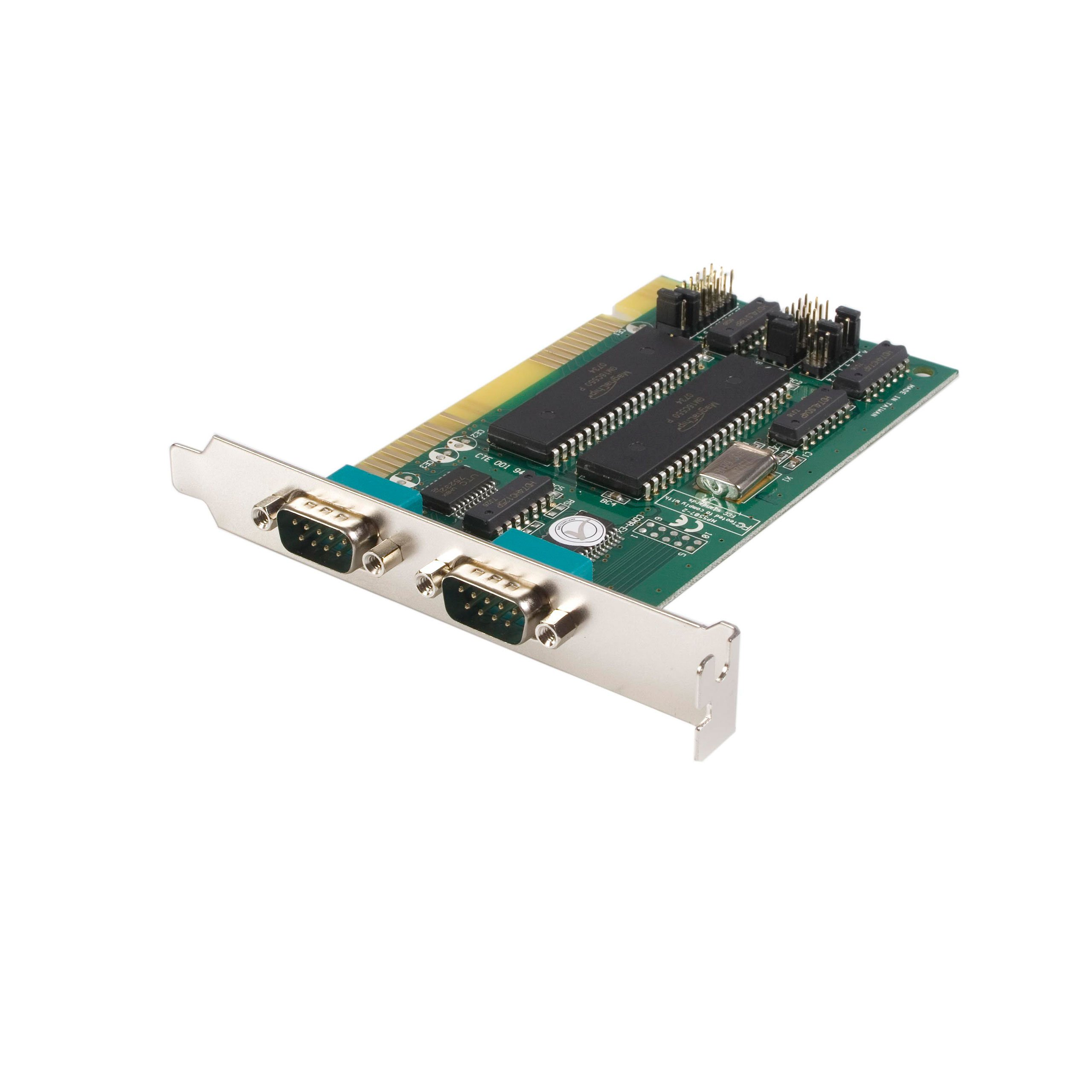 StarTech.com 2-Port ISA RS232 Serial Adapter Card with 16550 UART (ISA2S550)