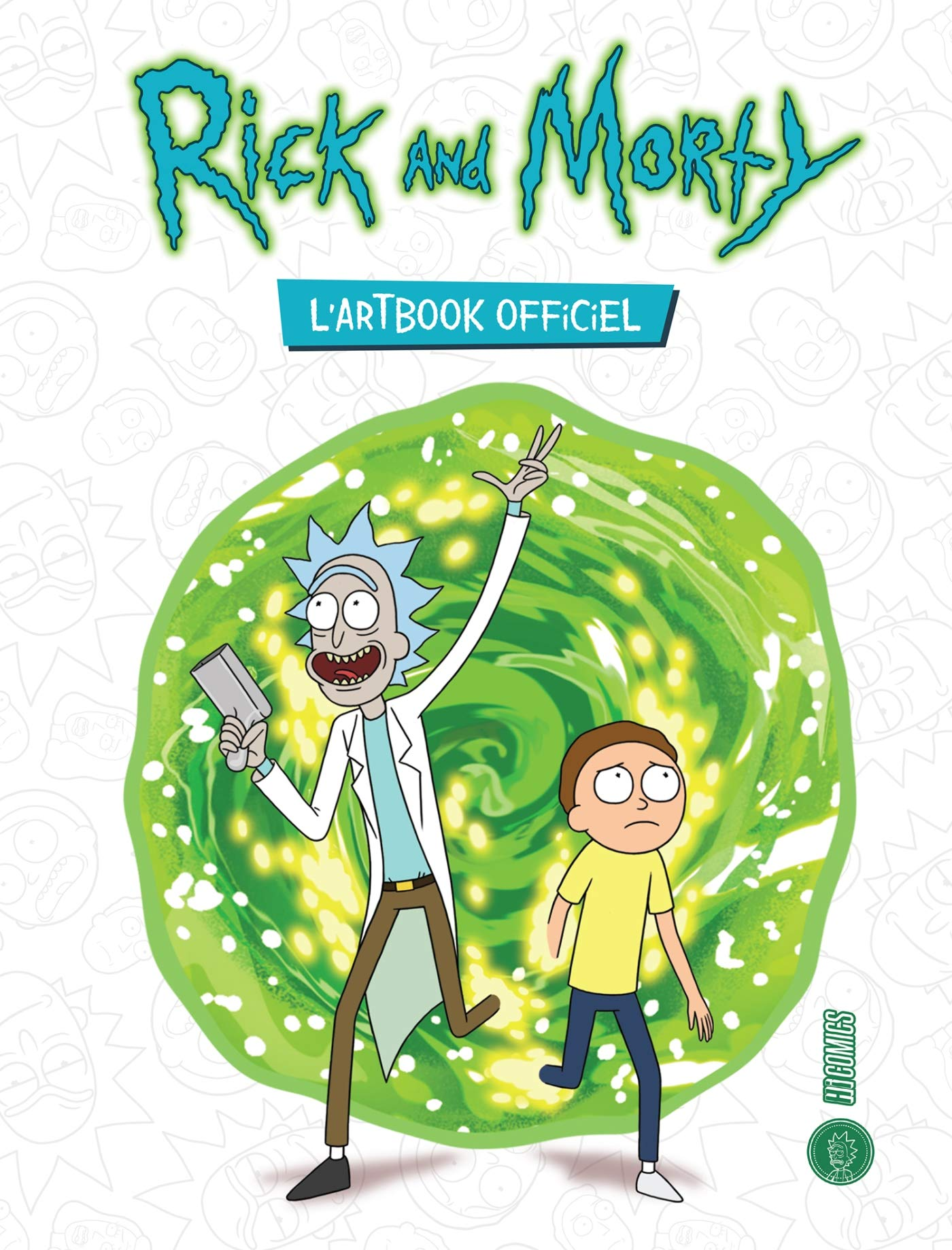 Amazon fr rick and morty lartbook officiel james siciliano justin roiland livres