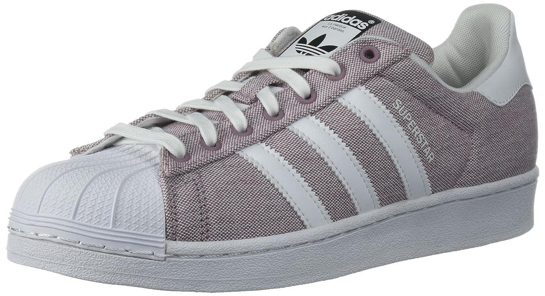 adidas Women's Superstar Foundation Casual Sneaker B01LBK256E 10 M US|Blapur/Ftwwht/Ftwwht