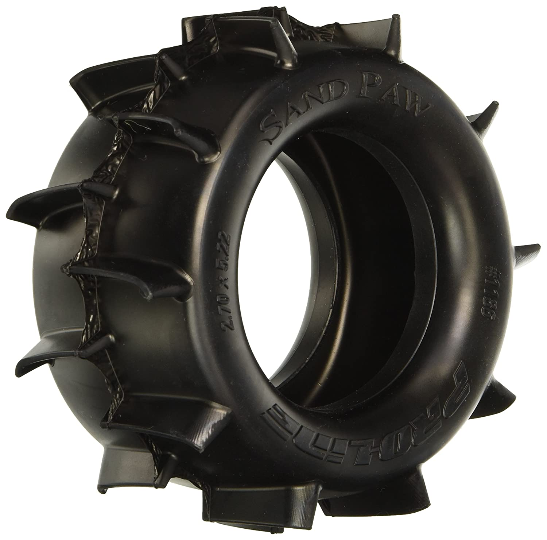Amazon ProLine Sand Paw 2 8 Traxxas Style All Terrain Truck Tires 2 Piece Toys & Games