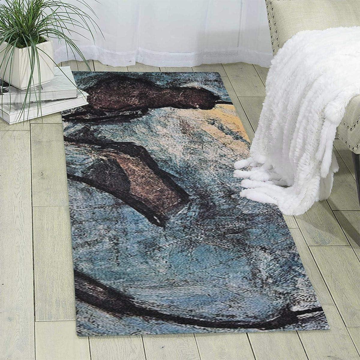"""Just Get Naked on Black Shower Rug Floor Door Mat Bathroom Bedroom Carpet 19x31/"""""""
