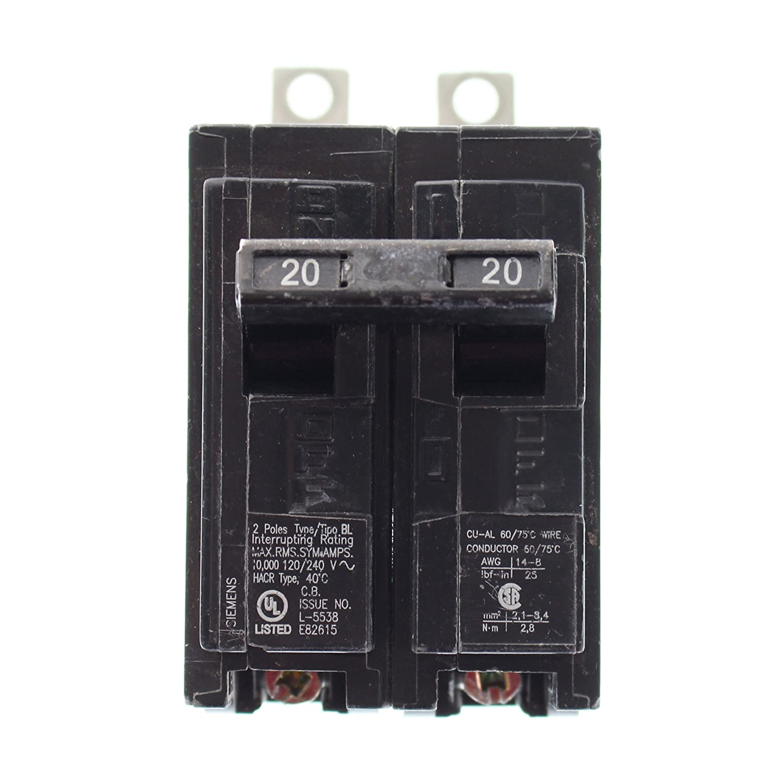 B220 Type BL Breaker by SIEMENS - Circuit Breakers - Amazon.com