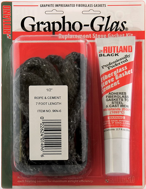 Amazon.com: Rutland 96W-6 Grapho-Glas Rope Gasket Replacement Kit ...