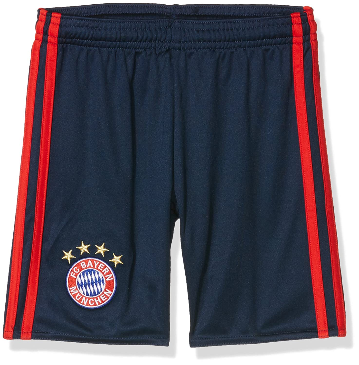 2016-2017 Bayern Munich Adidas Home Goalkeeper Shorts (Night Indigo) - Kids