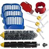 Reposición Pack Cepillos Kit para iRobot Roomba Serie 600 con filtros y cepillos para 600 620 630 650 660 SchwabMarken