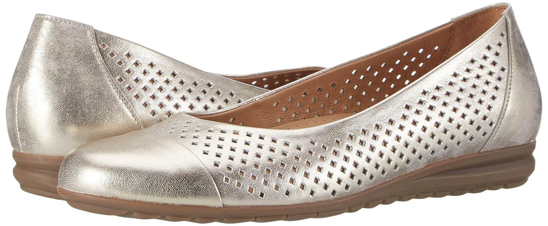 Gabor Geschlossene Damen Comfort Geschlossene Gabor Ballerinas Silber (Platino 63) 984434