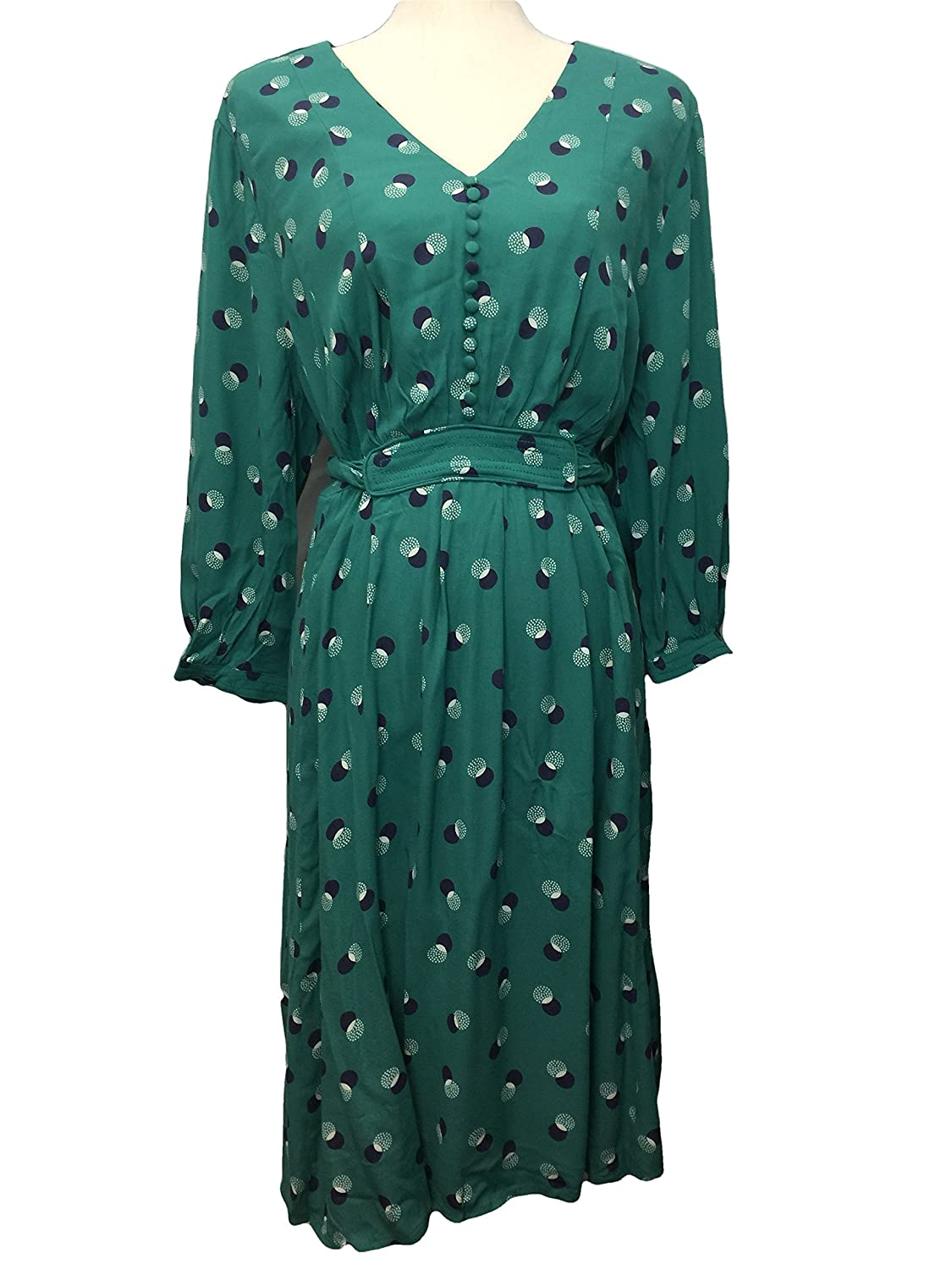 0ff01a1a4f BODEN Green Anouk Dress Size US 16 at Amazon Women s Clothing store