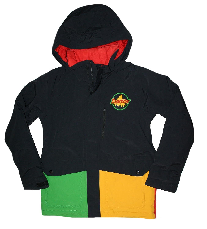 Burton Big Boys' Dryride 2L Durashell Phase Jacket Black/Multi)