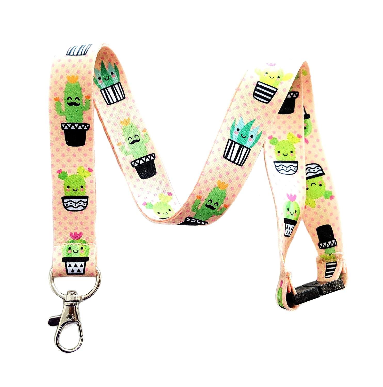 Amazon.com: Lindo llavero con diseño de cactus: Office Products