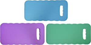 Black Duck Brand Set of 3 Foam Kneeling Pads! Perfect for Long Gardening Hours! (3 Kneeling Pads)
