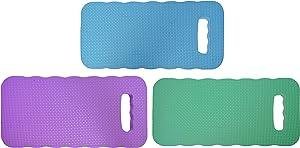 Black Duck Brand Set of 3 Foam Kneeling Pads! Perfect for Long Gardening Hours! (3 Kneeling Pads)