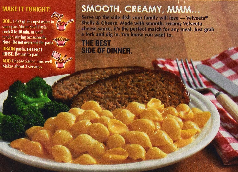 New Kraft Velveeta Shell and Cheese Original Pasta 340g (pack of 1): Amazon.es: Alimentación y bebidas