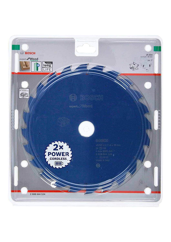 Bosch Professional 2608642497 Kreiss/ägeblatt Expert for Wood 216 x 30 x 2.4 mm Z48T