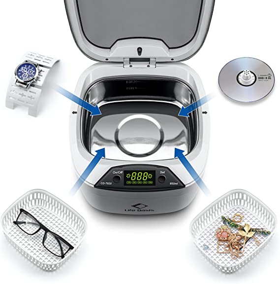 Life Base Limpiador por ultrasonidos 102 y 105: Amazon.es: Hogar