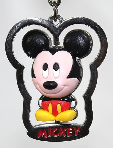 Disney Parks Mickey Mouse Llavero de Metal con Mickey de ...