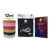 Vorliebe ® Mückenschutz Armband 12 Stück • Premium Moskitoschutz to go • Natürliche Mückenabwehr für Zuhause und unterwegs • DEET frei • Inkl. gratis E-Book