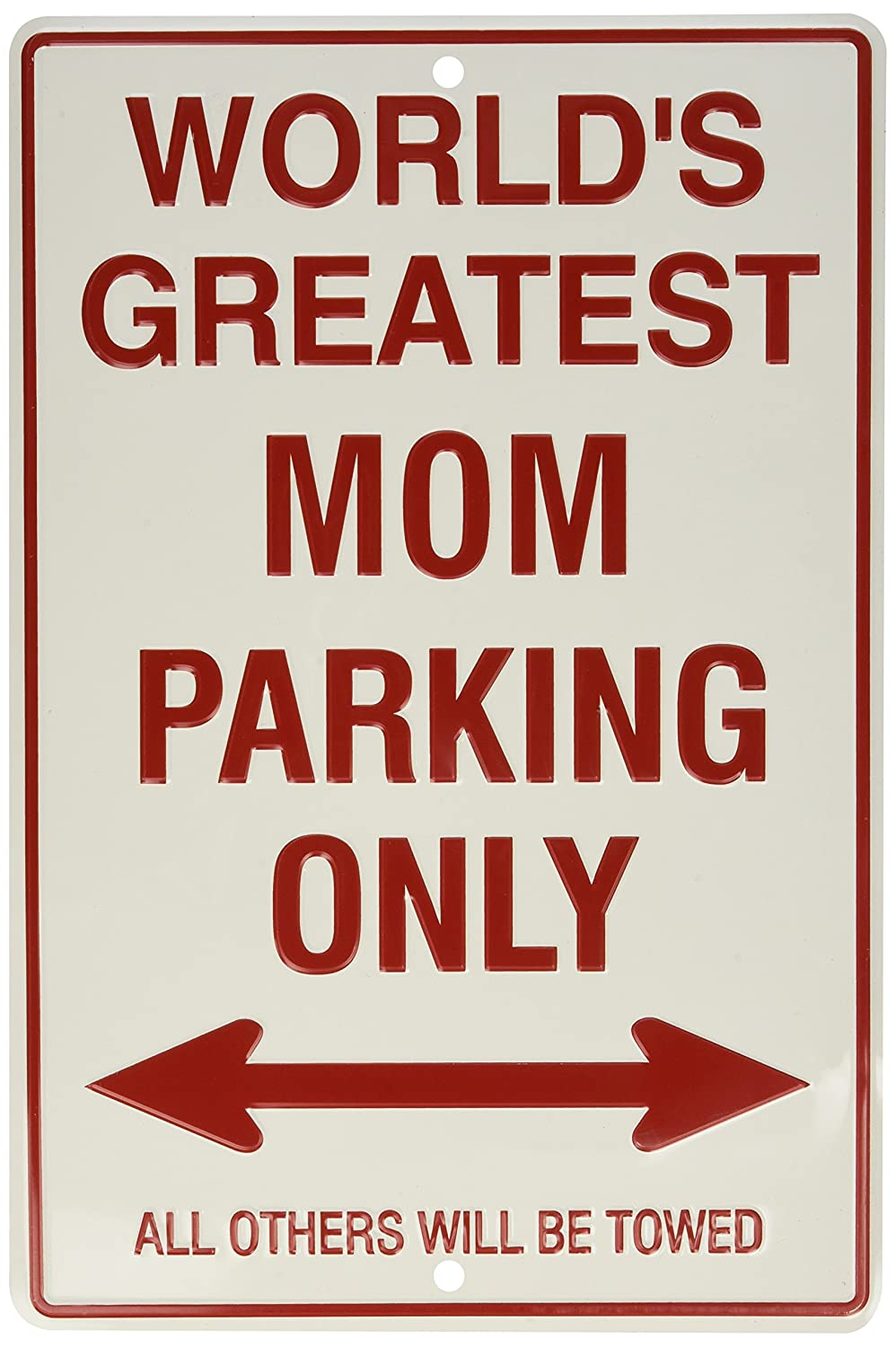 Amazon Com Hangtime World S Greatest Mom Parking Only Automotive