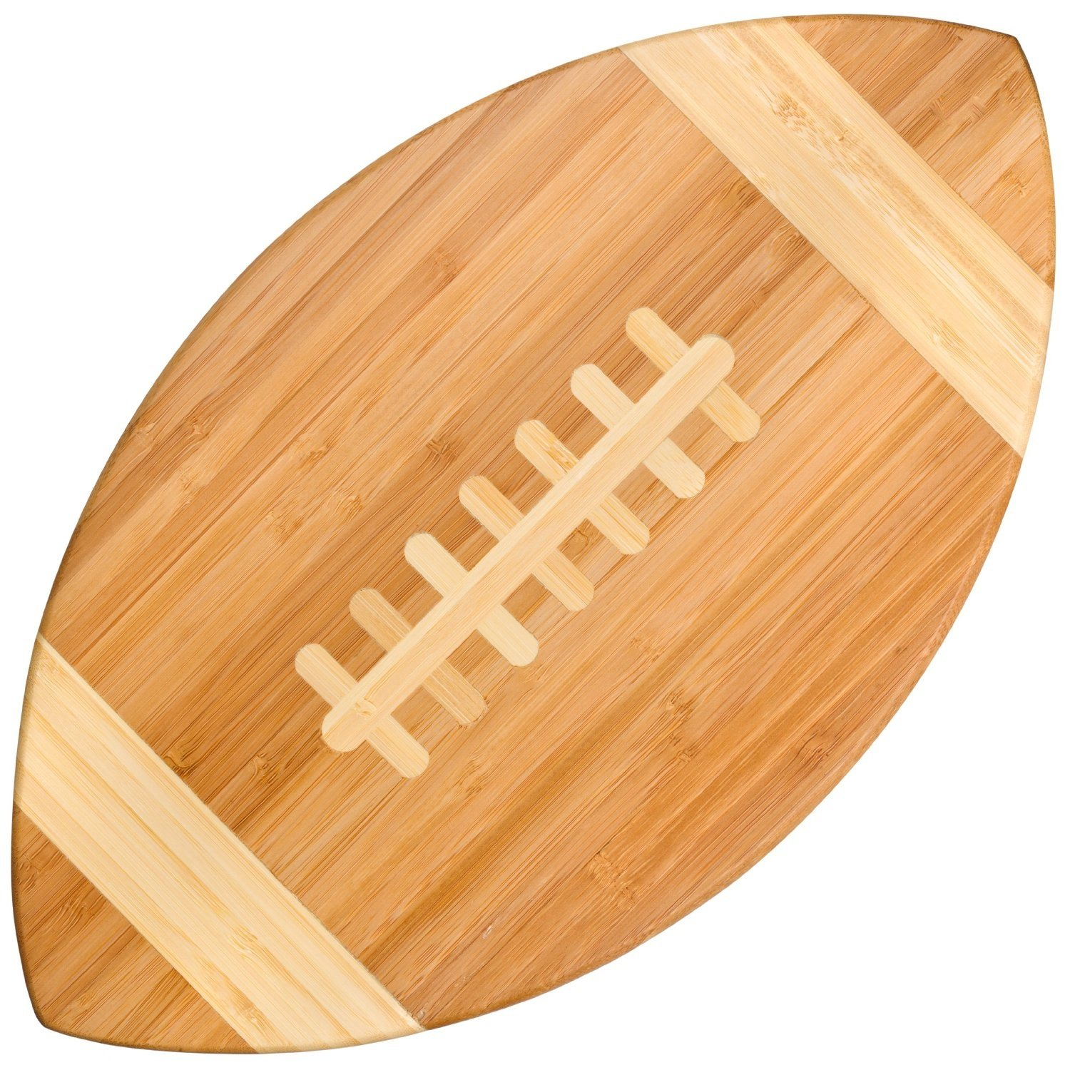 Bamboo Football Cutting Board & Serving Tray