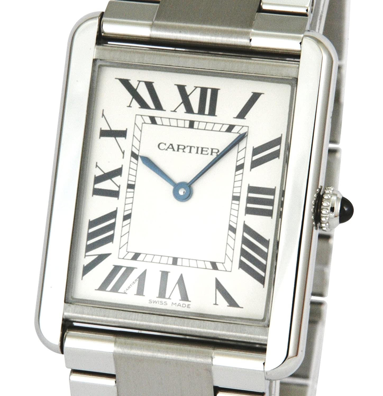Cartier Men s W5200014 Tank Solo Large Stainless Steel Watch