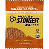 Honey Stinger Organic Gluten Free Waffle, Salted Caramel, Sports Nutrition, 1.06 Ounce (16 Count)