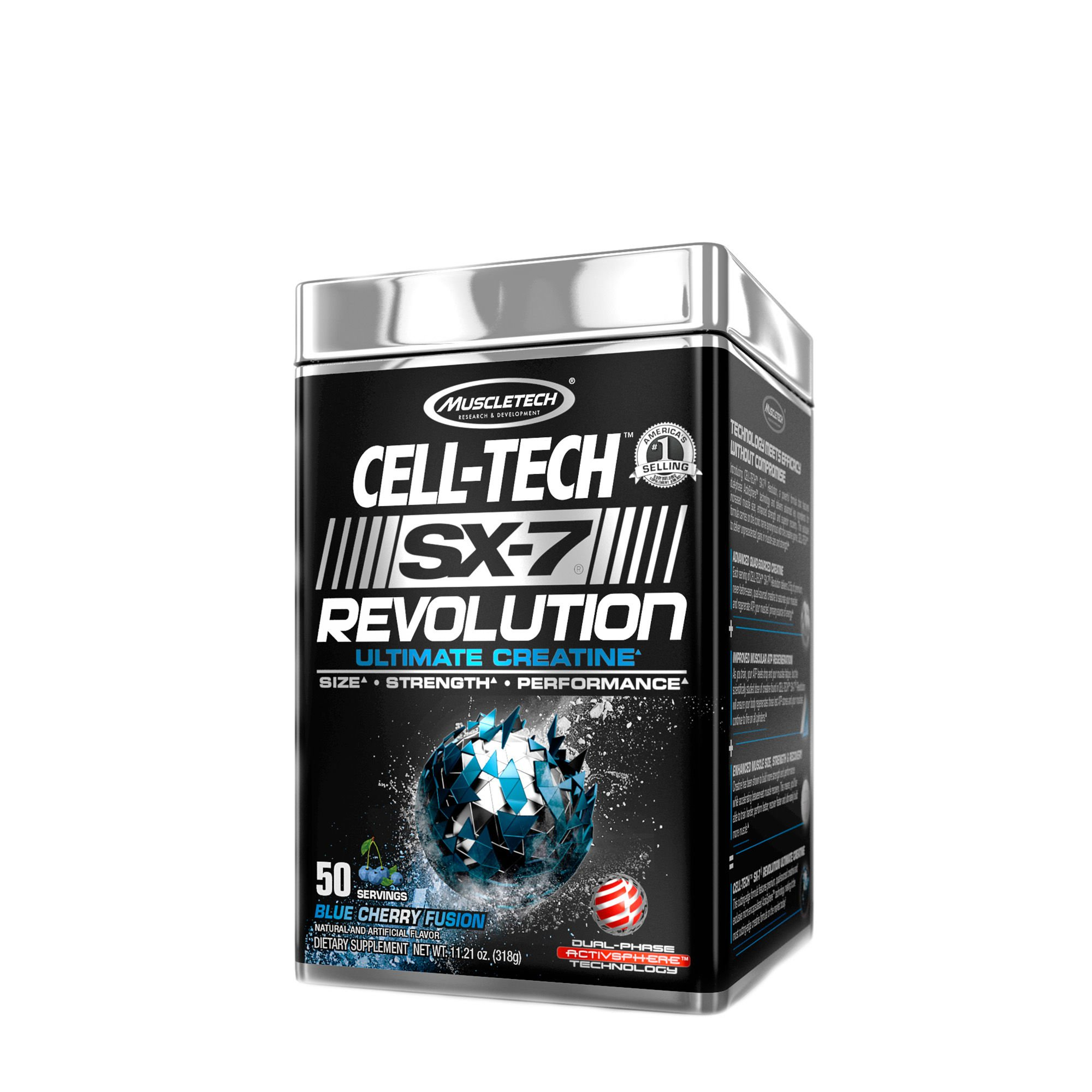 MuscleTech Cell-Tech SX-7 Revolution - Blue Cherry Fusion