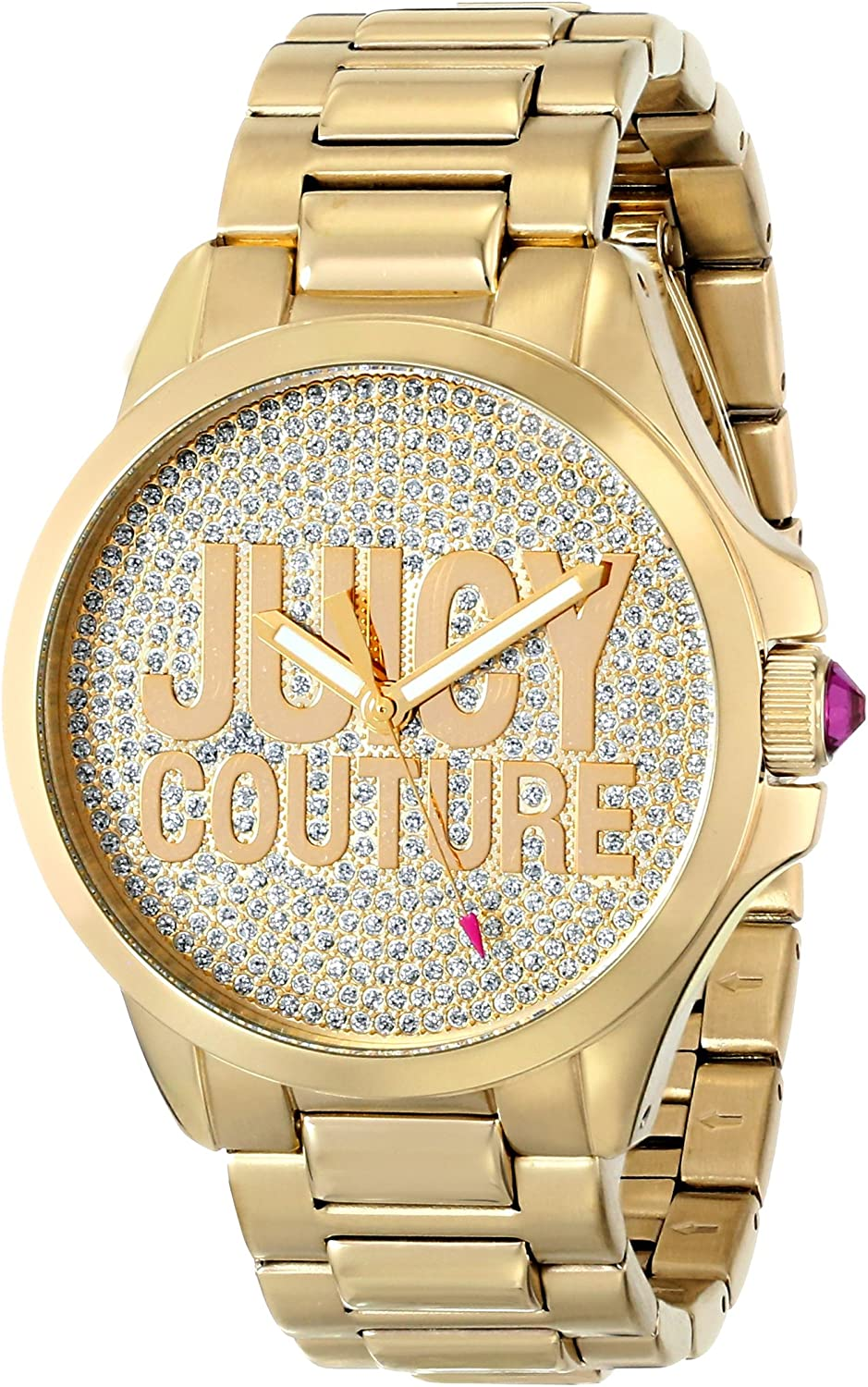 Juicy Couture Women s 1901148 Jetsetter Analog Display Quartz Gold Watch