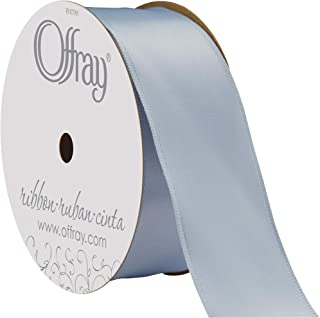 """product image for Offray Berwick 1.5"""" Single Face Satin Ribbon, Silver Ice Gray, 25 Yds"""