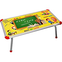 BabyGo Baby Kids Eating and Study Multipurpose Bed Table Foldable (60cm x 30cm) (Multicolor)