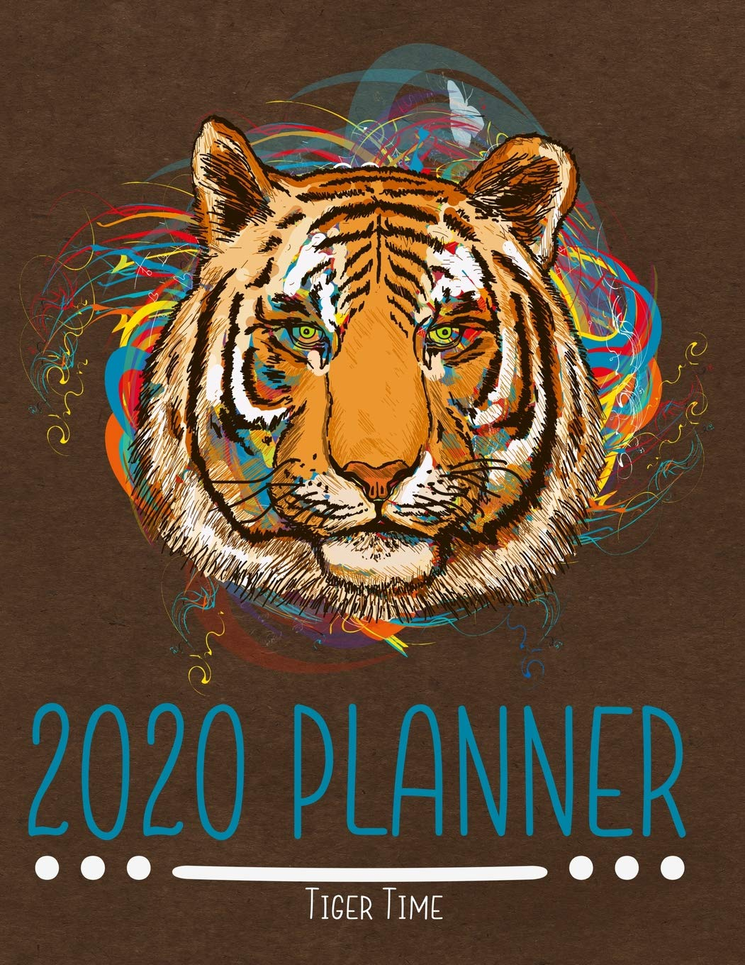 Tigers Home Opener 2020.2020 Planner Tiger Time Planners For Home School And