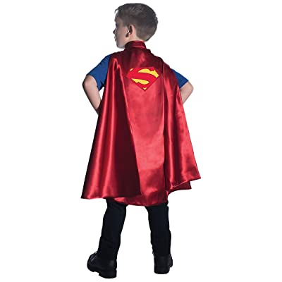 Rubie's Costume DC Superheroes Superman Deluxe Child Cape Costume: Toys & Games