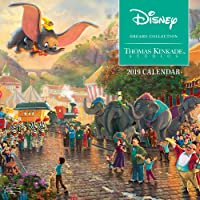 Thomas Kinkade: the Disney Dreams Collection 2019 Mini Wall