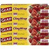 Glad ClingWrap 塑料食品包装 Cling Wrap 4 Pack 4