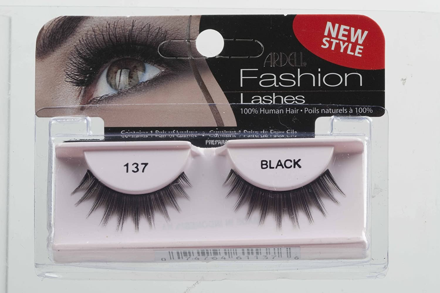 ff8089bcc2a Amazon.com : Ardell Fashion Lashes Pair - 137 (Pack of 4) : Beauty