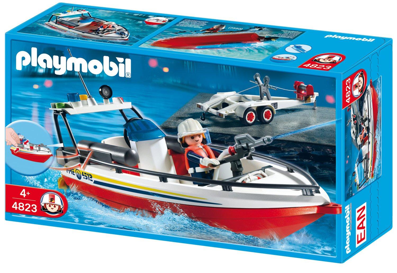 Playmobil Feuerwehr Zubehör - Playmobil Feuerwehrboot