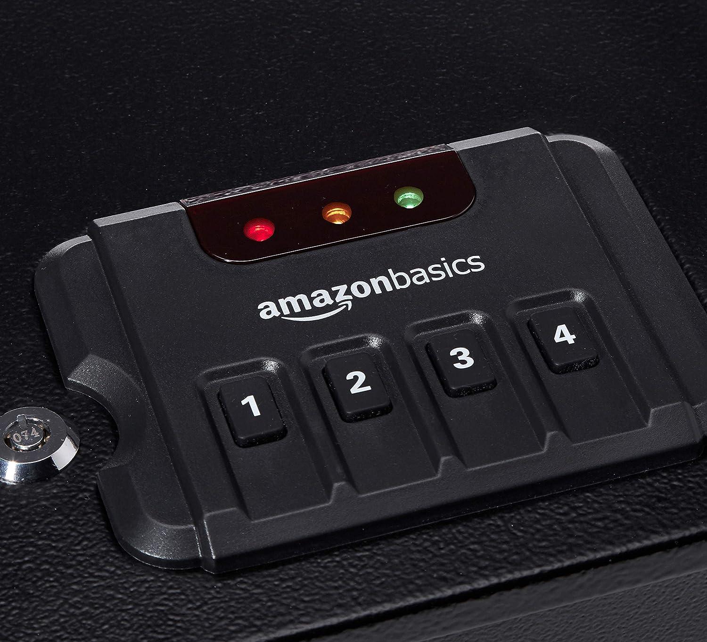 AmazonBasics - Caja fuerte de acceso rápido para 2 armas de fuego: Amazon.es: Bricolaje y herramientas