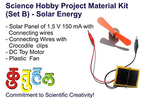 Buy Kutuhal Hobby Science Project Material Kit Set B Of Solar
