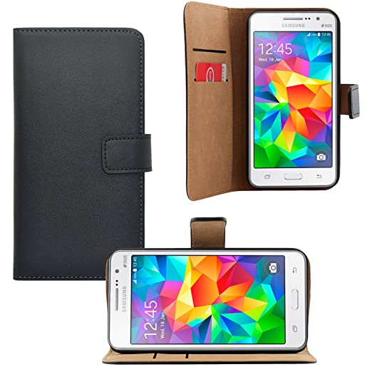 15 opinioni per Samsung Galaxy Grand Prime Bookstyle- iProtect Similpelle fintapelle custodia a