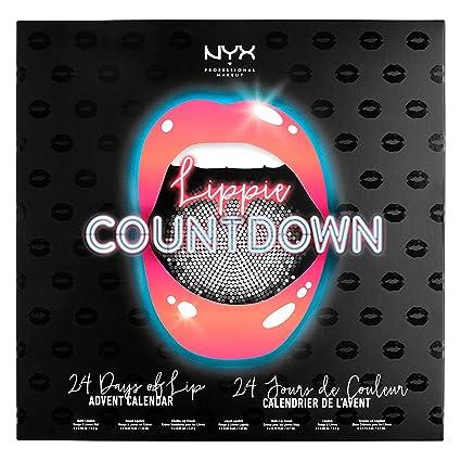 Calendario Nyx.Buy Nyx Professional Makeup Lippie Countdown Calendar