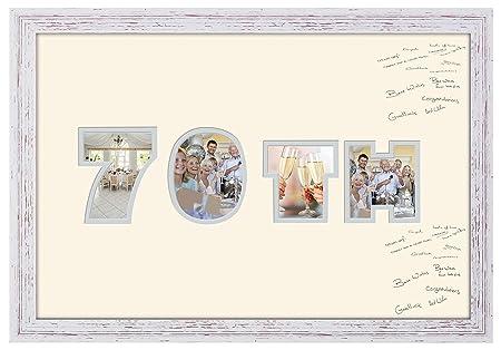 Photos in a Word 876D - Marco de Fotos para 70 cumpleaños ...