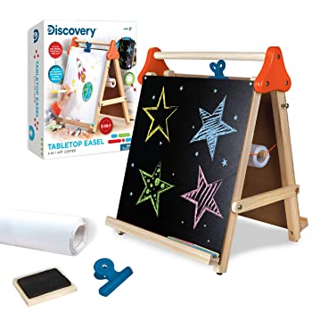 Discovery Kids 3-in-1 Tabletop Easel For Kid